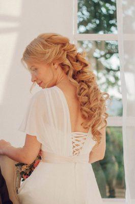 Греческая коса прическа на свадьбу