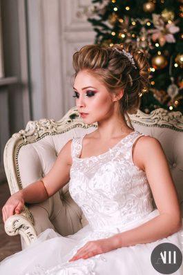 Изящный яркий образ на свадьбу от стилиста Татьяны Маковской