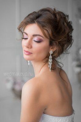 Нежный свадебный макияж от топ-стилиста Анастасии Соколовой