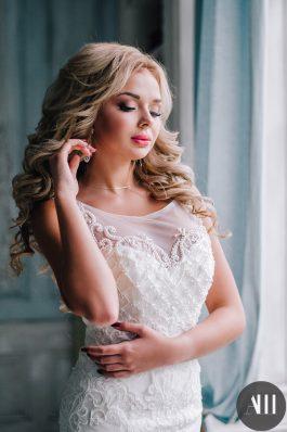 Шикарные локоны и нежный макияж от ведущего стилиста Анастасии Швабской