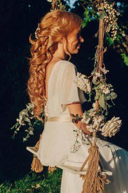 Свадебная прическа греческая коса от топ-стилиста Анастасии Соколовой
