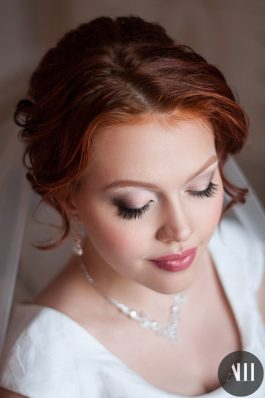 Свадебный макияж и прическа от ведущего стилиста Анастасии Швабской