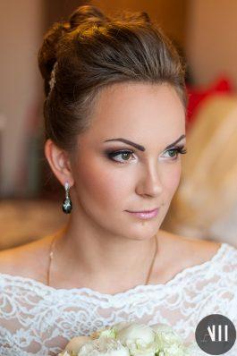 Свадебный макияж от ведущего стилиста Анастасии Швабской