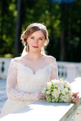 Свадебный образ прическа и макияж от стилиста Анастасии Соколовой