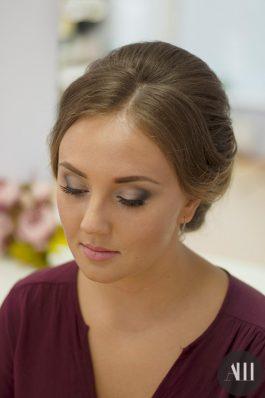 Яркий макияж на свадьбу от визажиста Анастасии Соколовой