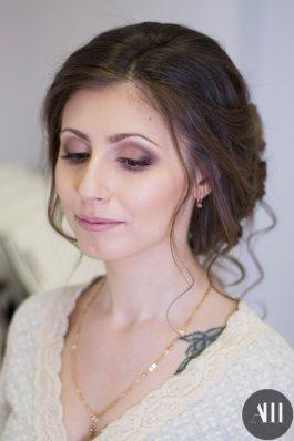Яркий свадебный макияж от стилиста Анастасии Соколовой