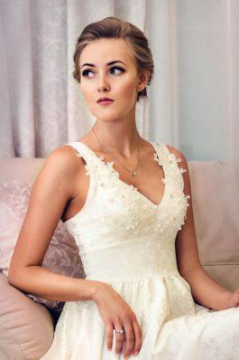Яркий свадебный макияж от визажиста Анастасии Соколовой