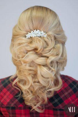 Греческая коса назад на свадьбу