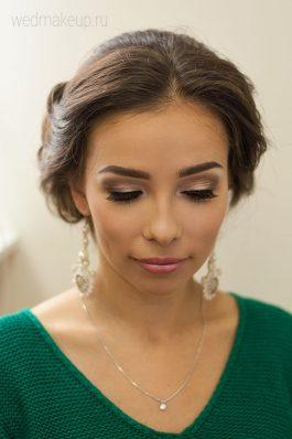 Красивый макияж на свадьбу от ведущего стилиста