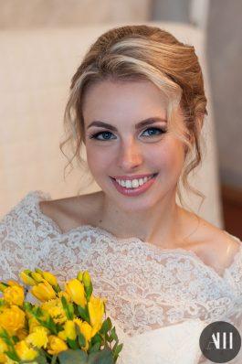 Легкий и нежный образ для невесты