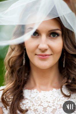 Локоны и макияж для невесты