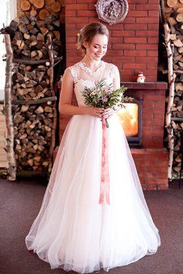 Нежный образ на свадьбу стилист Марина Емельянова Студия причесок и макияжа Анастасии Швабской