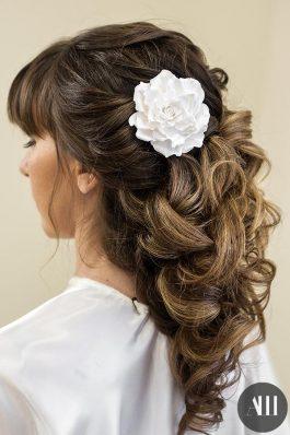 Прическа греческая коса на средние волосы