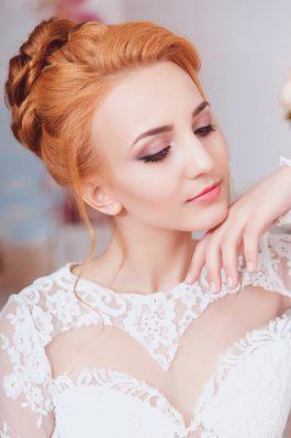 Прическа и макияж на свадьбу от стилиста Маргариты Соловьевой