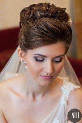 Прическа и макияж от ведущего стилиста Анастасии Швабской