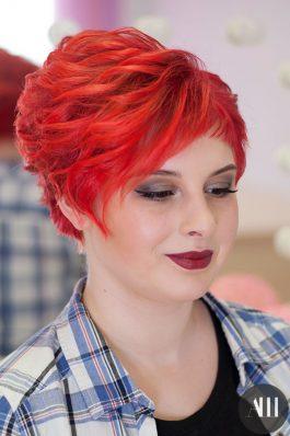 Прическа на свадьбу из коротких волос