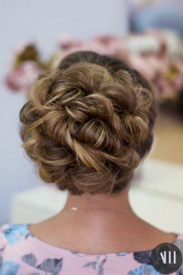 Шикарная прическа на свадьбу от стилиста Маргариты Соловьевой