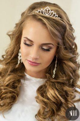 Свадебная прическа локоны с накладными волосами