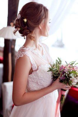 Свадебная прическа от стилиста Марины Емельяновой