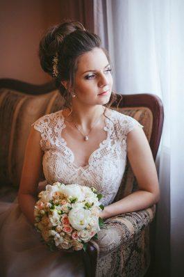 Свадебный образ от стилиста Ангелины Солнцевой
