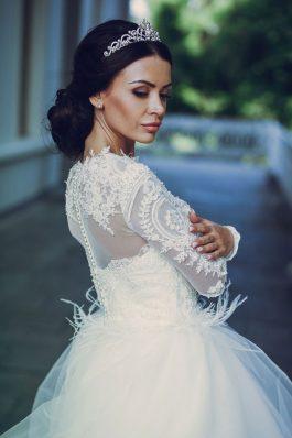 Свадебный образ от стилиста Марины Емельяновой Студия причесок и макияжа Анастасии Швабской