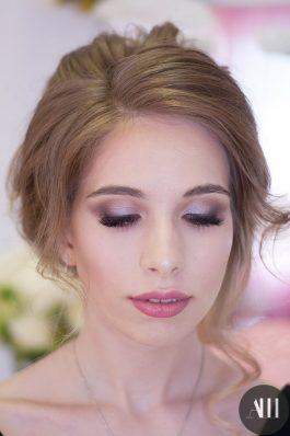 Яркий безупречный макияж на свадьбу от визажиста Маргариты Соловьевой