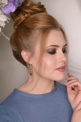 Яркий макияж на свадьбу от стилиста Маргариты Соловьевой