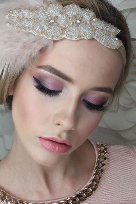 Яркий макияж на свадьбу от визажиста Ирины Молчановой