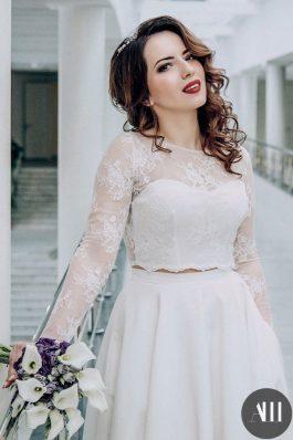 Яркий свадебный образ для невесты от ведущего стилиста